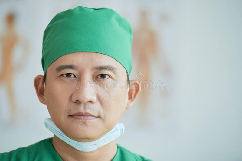 Fachowy chirurg fotografia royalty free