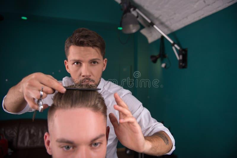 Fachowy fryzjerstwo salon obraz stock