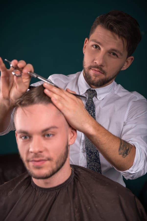 Fachowy fryzjerstwo salon zdjęcie royalty free