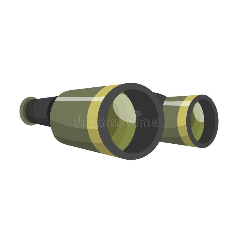 Fachowy kamera obiektywu obuoczny szkło widzii wzrokowej przyrząd kamery ostrości okulistycznego wyposażenia cyfrowego wektor royalty ilustracja