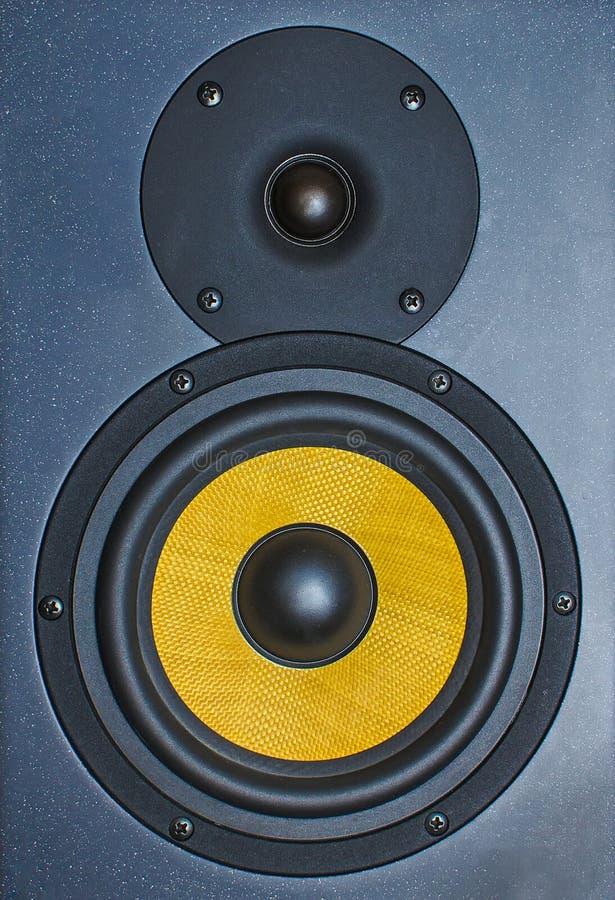 Fachowy muzyczny pracowniany monitor obrazy stock
