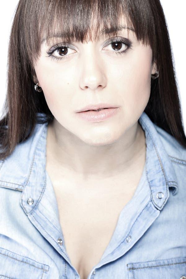 Download Facial beauty portrait stock image. Image of closeup - 29443125