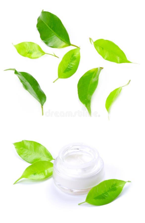 Facial cream stock photos