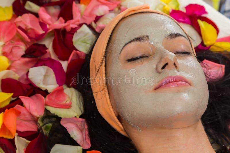 Facial dos termas da cosmetologia fotografia de stock