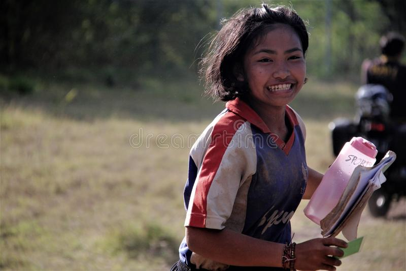 Facial Expression, Girl, Emotion, Smile stock photo