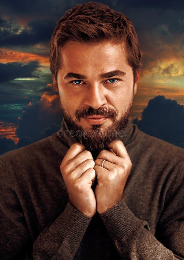 Facial Hair, Hair, Beard, Man royalty free stock photos