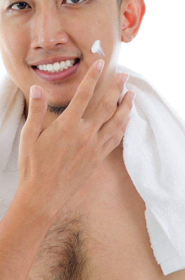 Facial masculino fotos de archivo