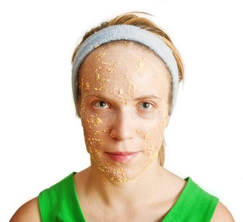 Download Facial Mask stock photo. Image of caucasian, face, skin - 15957472
