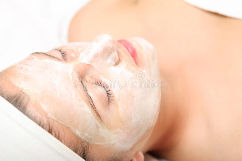 Download Facial mask stock photo. Image of girl, cleansing, treatment - 19046550