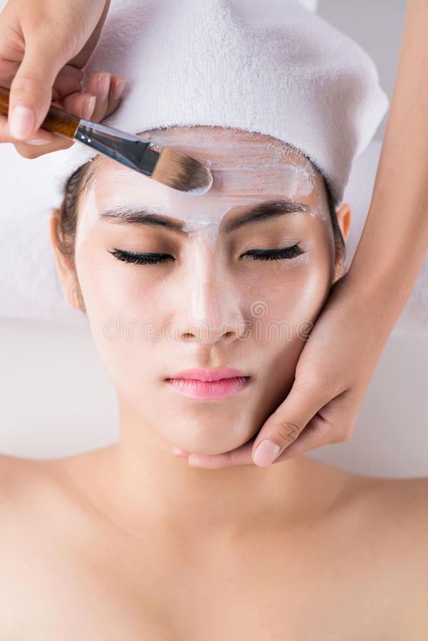 Facial mask royalty free stock images
