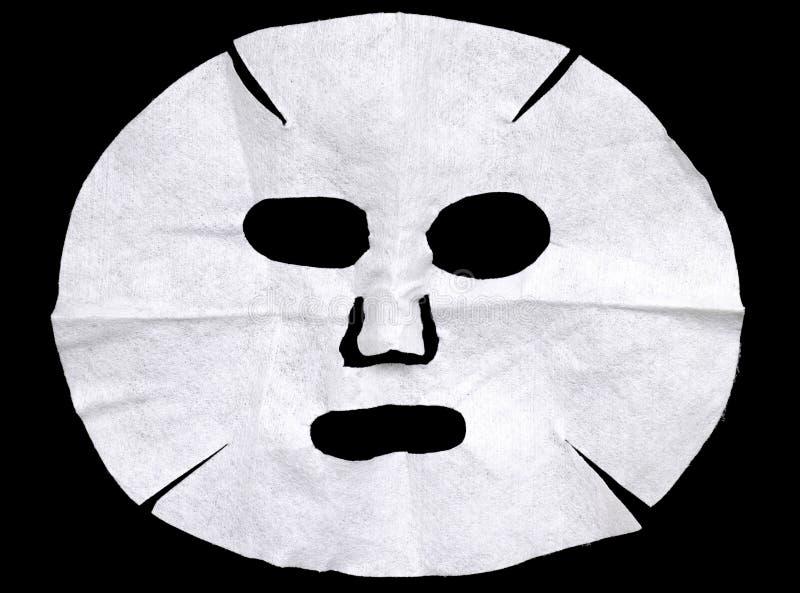 Facial mask sheet stock photo