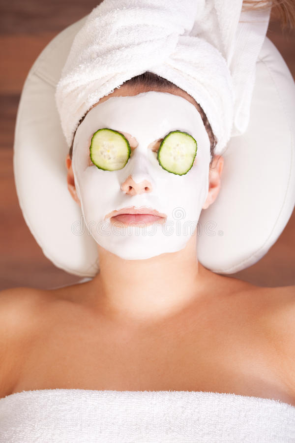 facial maska obraz royalty free