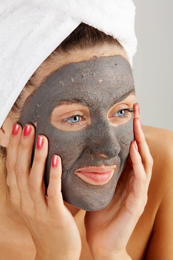 facial maska fotografia stock
