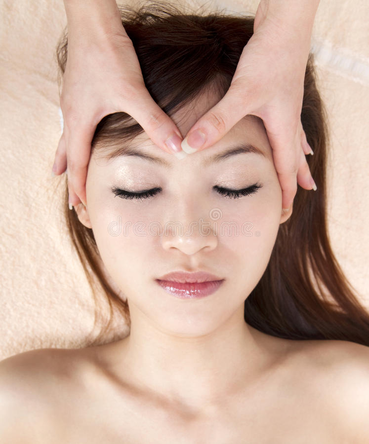 Download Facial massage stock image. Image of eyes, beauty, comfortable - 16226793