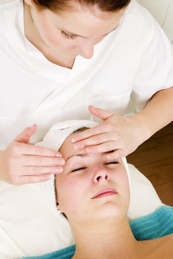 Facial Massage stock images