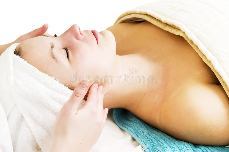 Download Facial Massage stock image. Image of facial, pamper, cleanse - 691603