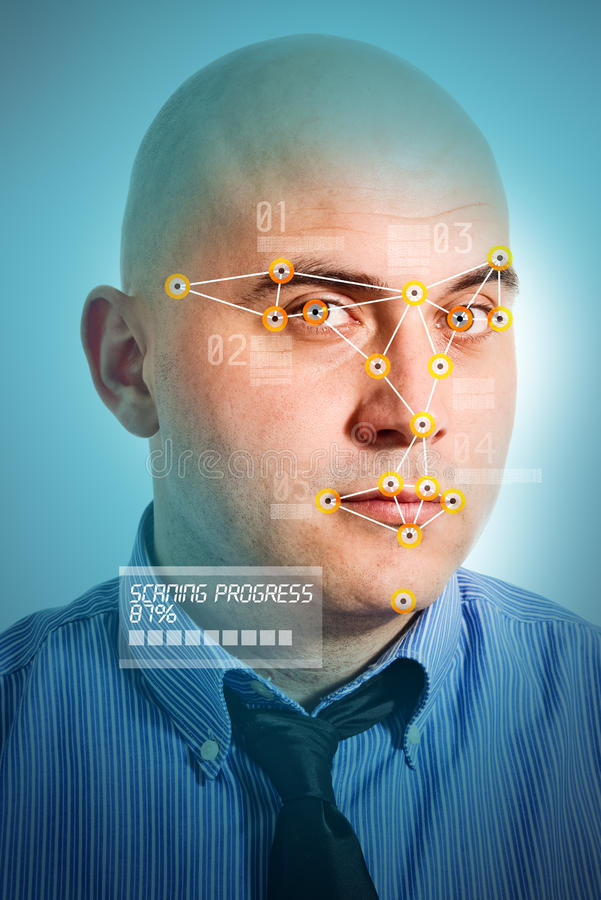 Free Facial Recognition Royalty Free Stock Photo - 30456305