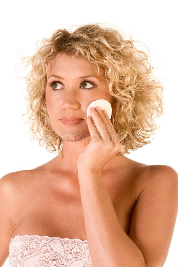 Download Facial Skincare, Cleaning Make Up Stock Image - Image: 5133959