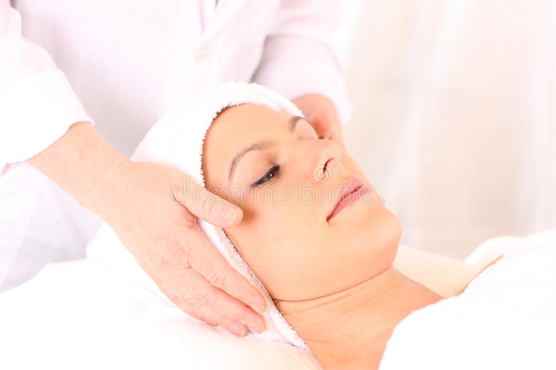 Download Facial treatment stock image. Image of beauty, woman - 10431201