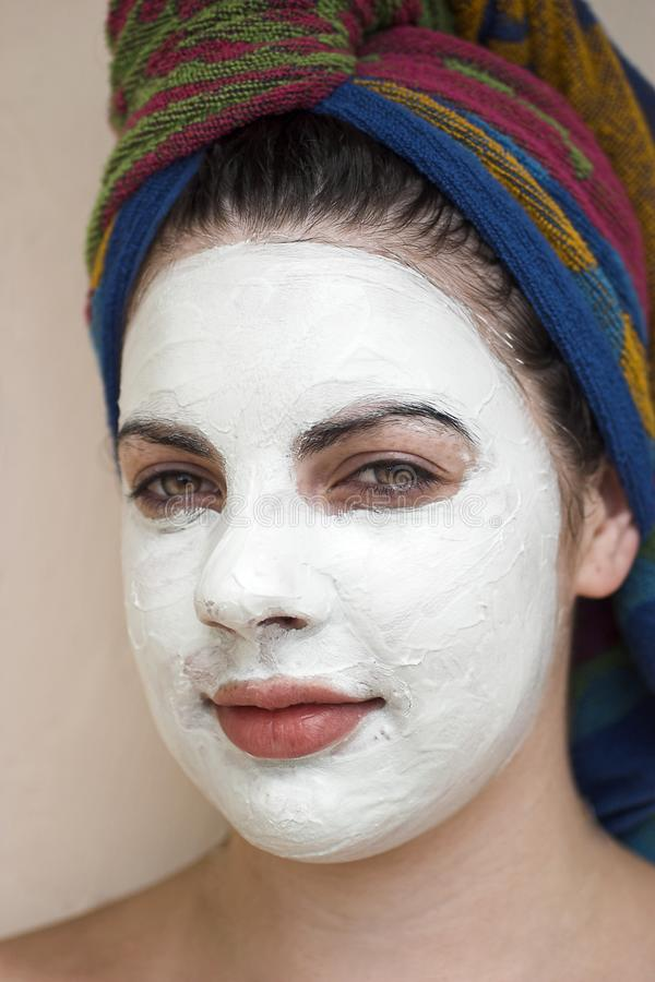 Download Facial Treatment stock image. Image of salon, relaxed, exfoliate - 544911