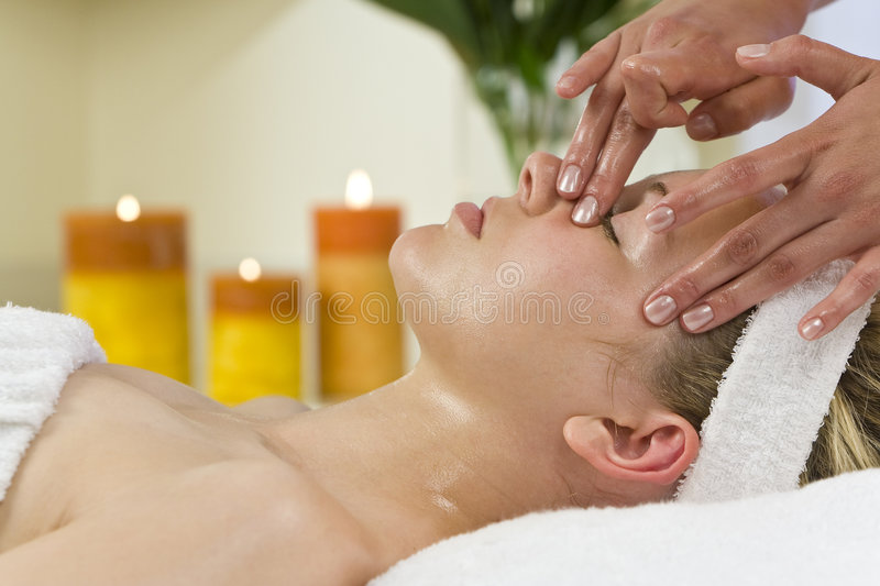 Download Facial Treatment stock image. Image of serene, face, healthy - 5837305