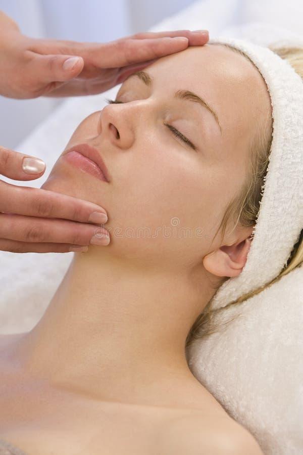 Facial Treatment royalty free stock photography