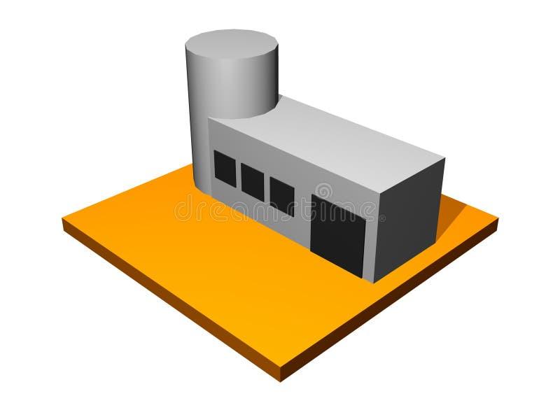Facilidade científica ilustração do vetor