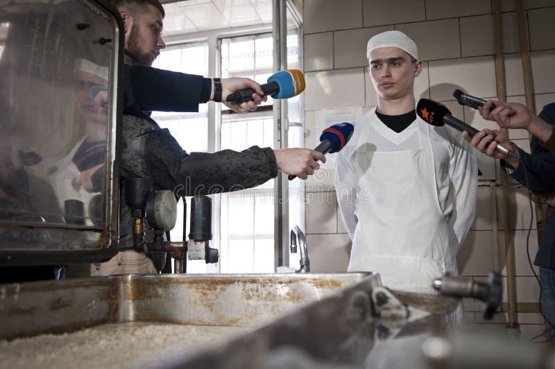 Facilidade da detenção de Kyiv foto de stock royalty free