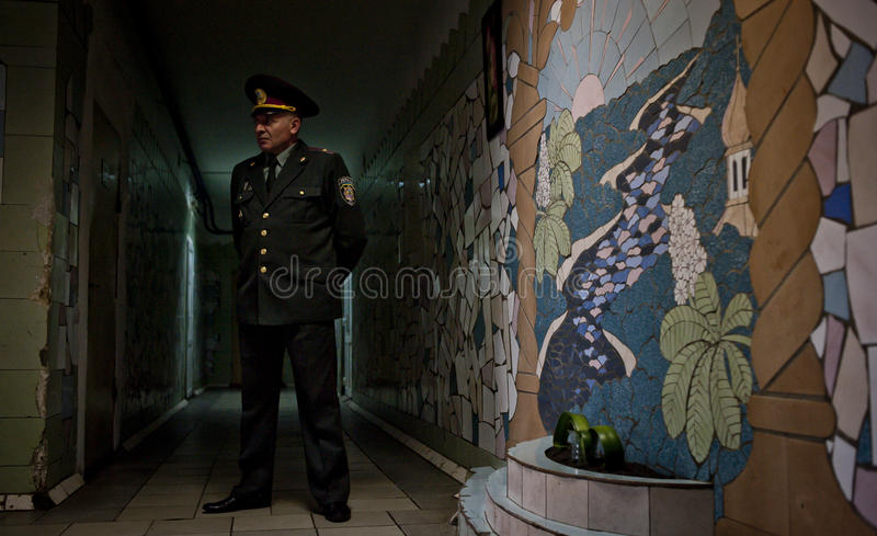 Facilidade da detenção de Kyiv foto de stock