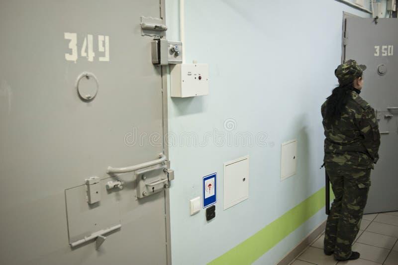 Facilidade da detenção de Kyiv fotos de stock