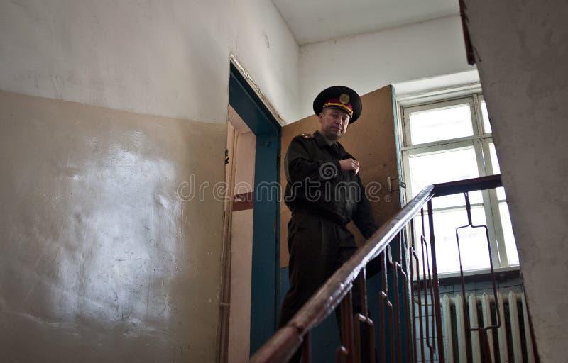 Facilidade da detenção de Kyiv imagens de stock royalty free