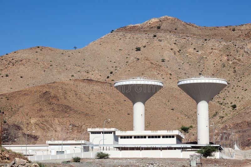 Facilidade da fonte de água em Omã foto de stock royalty free