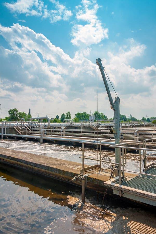 Facilidade da limpeza da água foto de stock royalty free