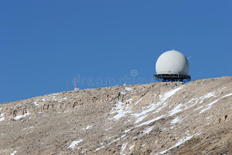 Facilidade do radar imagens de stock