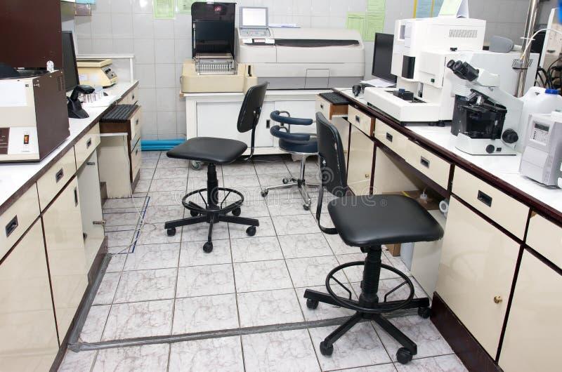 Facilidades do laboratório foto de stock