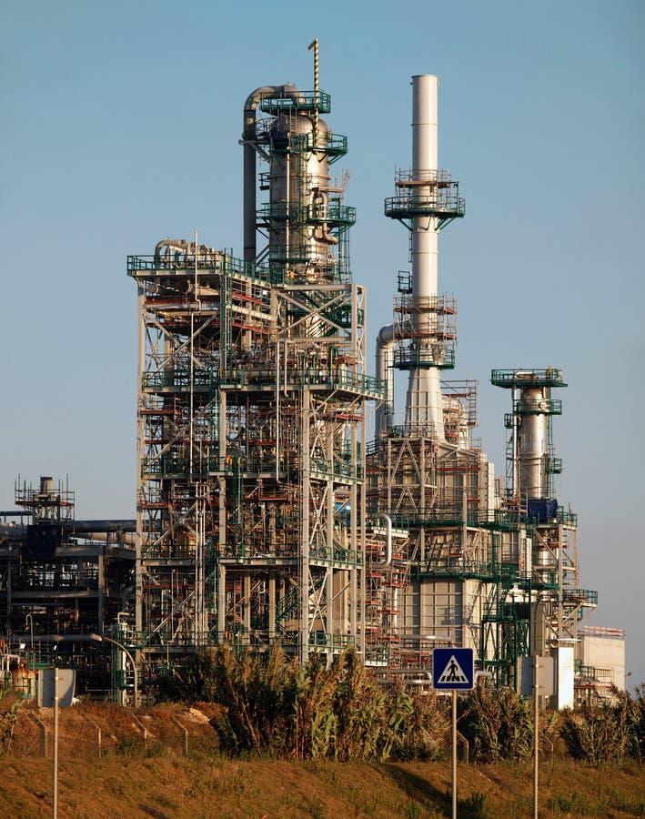 Facilidades industriais novas sob a construção fotos de stock royalty free