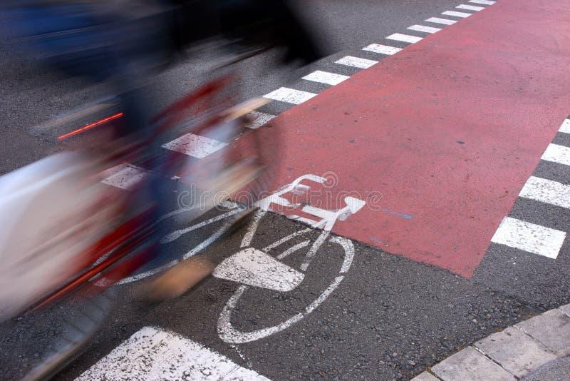 Facilidades urbanas para o transporte sustentável fotografia de stock