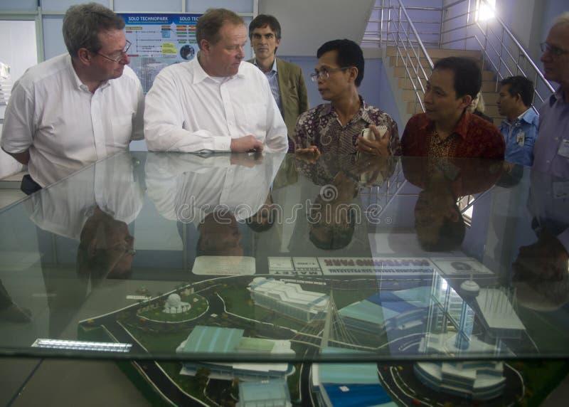 FACILITÀ DI INFLAZIONE DELL'INDONESIA fotografie stock