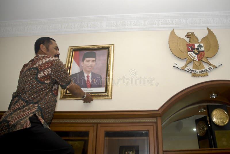 FACILITÀ DI INFLAZIONE DELL'INDONESIA fotografie stock libere da diritti