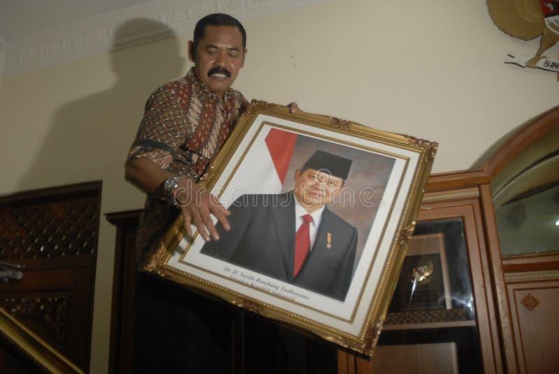FACILITÀ DI INFLAZIONE DELL'INDONESIA fotografia stock