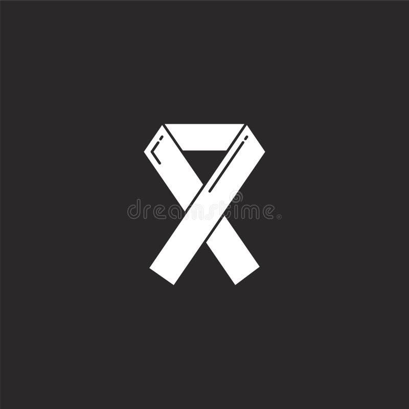 FACILITE l'ic?ne Icône remplie d'aides pour la conception de site Web et le mobile, développement d'appli facilite l'icône de la  illustration libre de droits