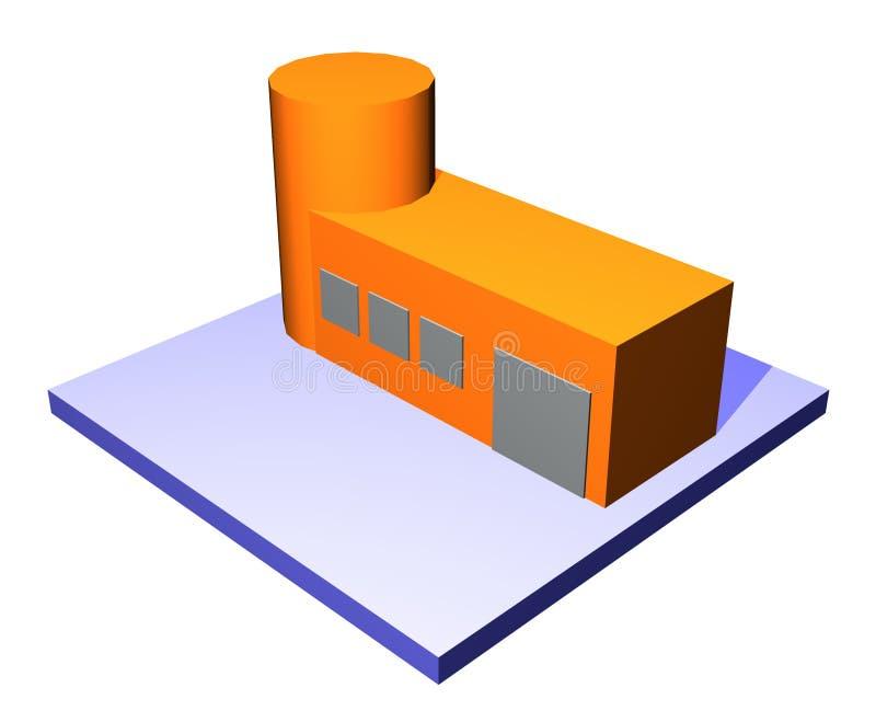 Faciliteit - de Reeks van het Beheer van de Keten van de Levering stock illustratie