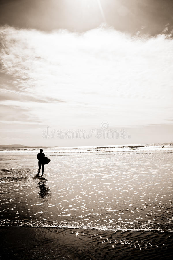 Surfer royalty free stock image