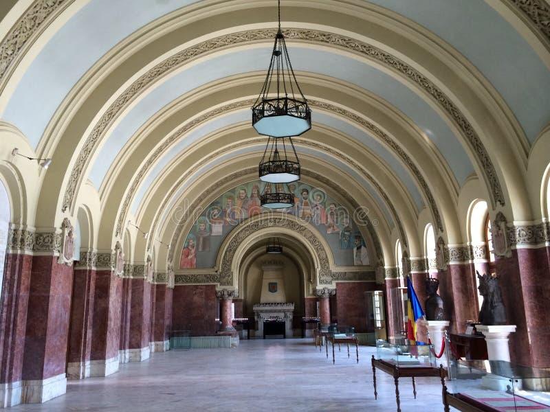 Facklig korridor arkivbilder