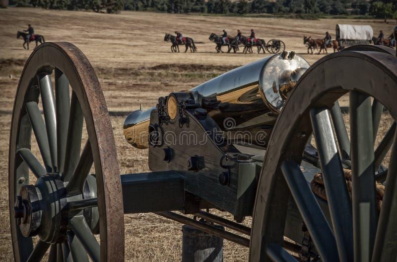 Fackligt artilleri royaltyfri foto
