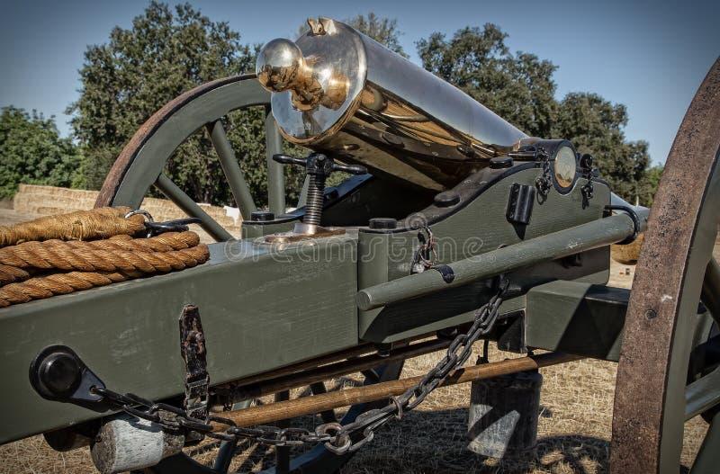 Fackligt artilleri royaltyfri fotografi