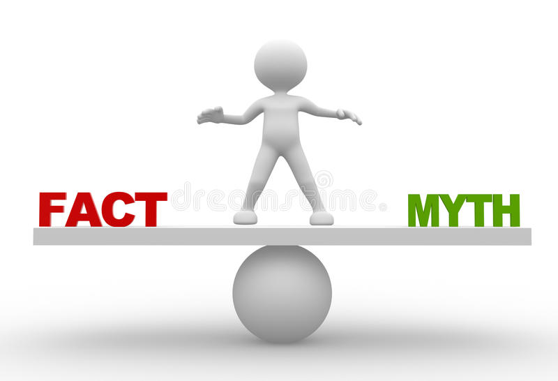 Download Fact And Myth Stock Image - Image: 32590311