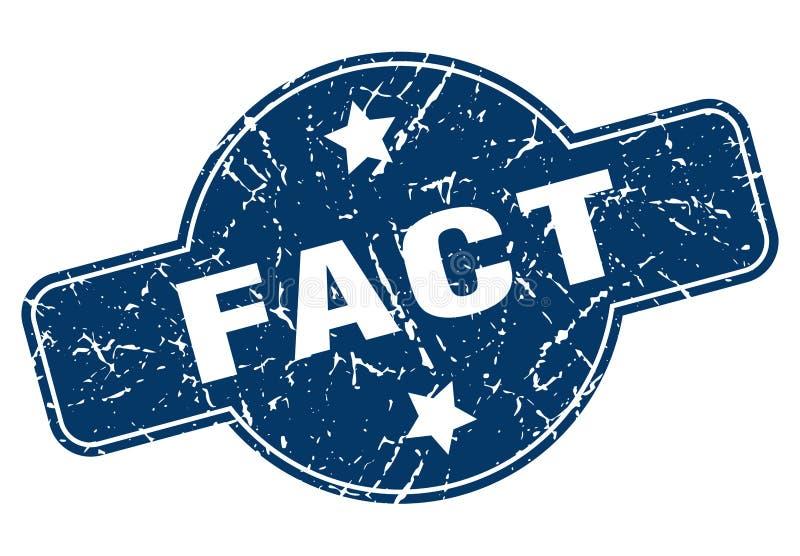 Fact znaczek ilustracji