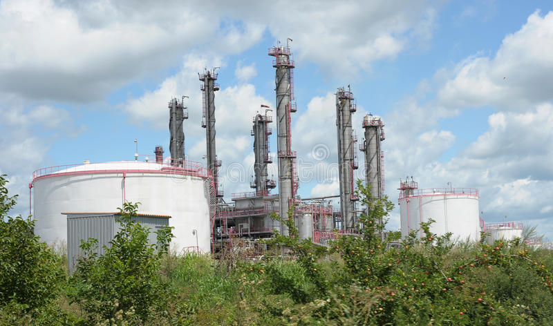 Download Factory stock photo. Image of environment, industry, clouds - 12826072