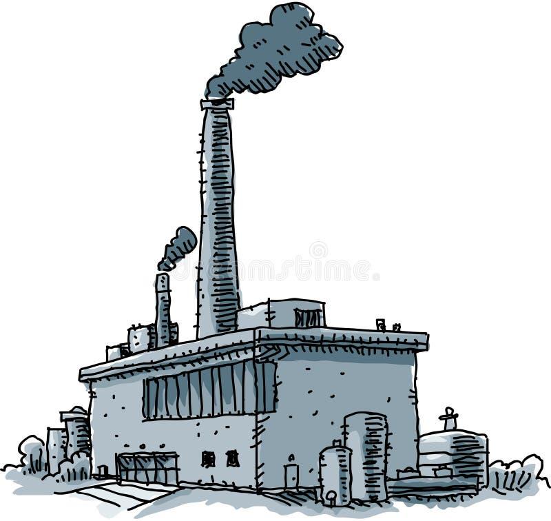 Картинка завода с трубами для презентации
